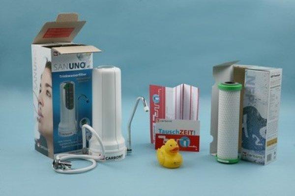 Carbonit Sanuno Sparset Wasserfilter