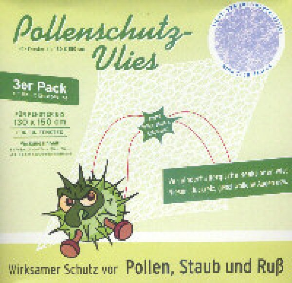 Pollenschutz-Vlies 130 x 150 cm 3er Pack