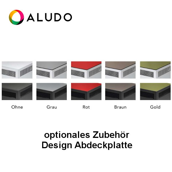 ALUDO Design Abdeckplatte