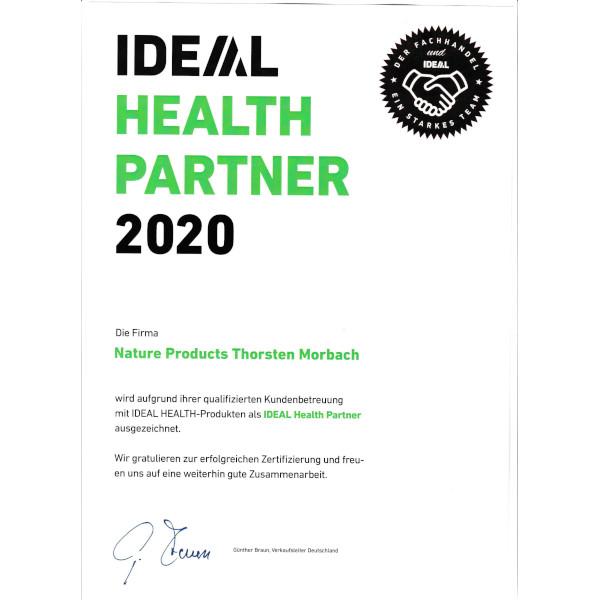 IDEAL HEALTH Zertifizierung